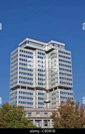 Deutsche Rentenversicherung building, German Pension Insurance, Hohenzollerndamm, Berlin, Germany, Europe - Stock Photo