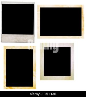 photo frames isolated on white - Stock Photo