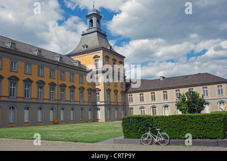 Main building, Bonn University Germany - Stock Photo