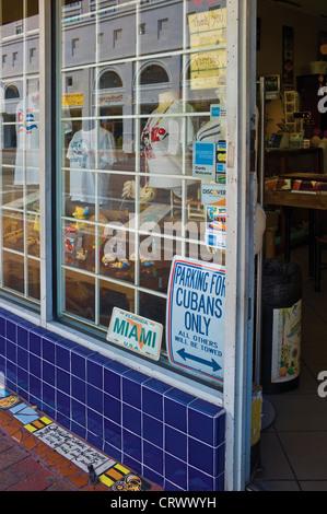 Souvenirs Store. Calle Ocho. Little Havana. Miami. Florida. USA - Stock Photo