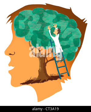 BRAIN CONCEPT - Stock Photo
