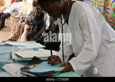 A HOSPITAL IN AFRICA - Stock Photo