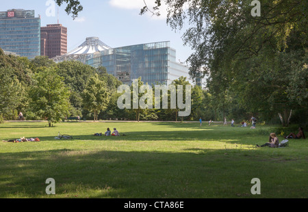 Tiergarten, Berlin Germany - Stock Photo