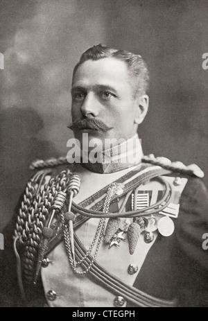 Field Marshal Douglas Haig,1st Earl Haig, 1861 –1928. British senior officer during World War I. - Stock Photo
