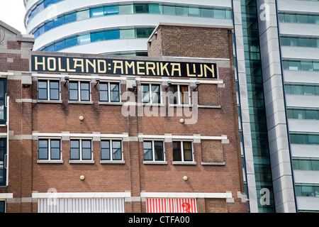 Hotel New York, Holland Amerika Line, Rotterdam, Netherlands - Stock Photo