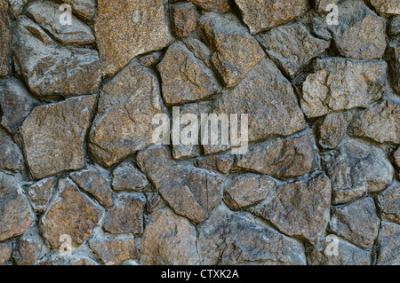 Rough stone wall background. high resolution texture - Stock Photo