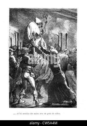 Brion, Scene from 'Notre-Dame de Paris' - Stock Photo