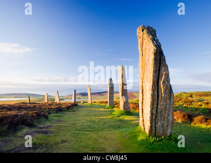 Ring of Brodgar, Orkney, Scotland, UK. - Stock Photo