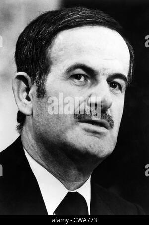 Hafez al-Assad, president of Syria from 1971-2000, 1976. Courtesy: CSU Archives/Everett Collection - Stock Photo