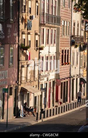 Avenida Diogo Leite Vila Nova de Gaia Porto Portugal - Stock Photo