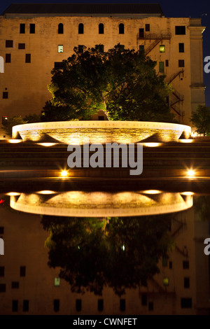 The Survivor Tree, Oklahoma City National Memorial, Oklahoma City, Oklahoma - Stock Photo