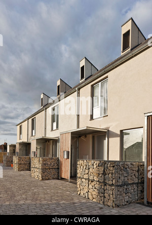 The Triangle housing project in Swindon which was highly commended in the 2012 Civic Trust Awards - Stock Photo