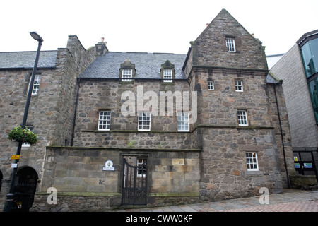 provost ross's house shiprow aberdeen scotland uk - Stock Photo