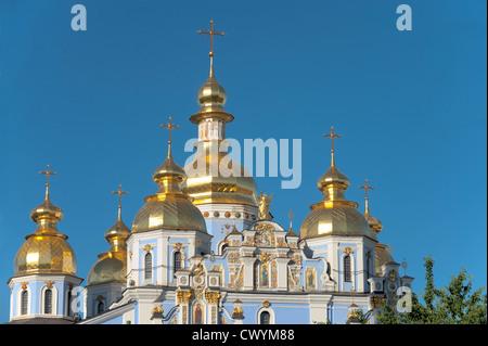 St Michael's Church, Kiev, Ukraine, Europe - Stock Photo