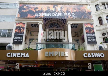 Empire Cinema, Leicester Square; London; England; UK - Stock Photo