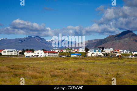 Höfn (Höfn Í Hornafirđi), South East Iceland - Stock Photo
