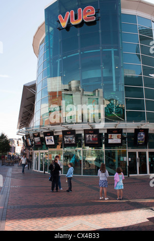 The Vue cinema in The Oracle shopping centre in Reading. - Stock Photo