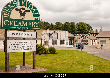 The Wensleydale Creamery visitor centre in Hawes in Wensleydale in North Yorkshire, England, Britain, Uk - Stock Photo