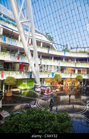 Khan Shatyr shopping and entertainment center, Astana, Kazakhstan, Central Asia, Asia - Stock Photo