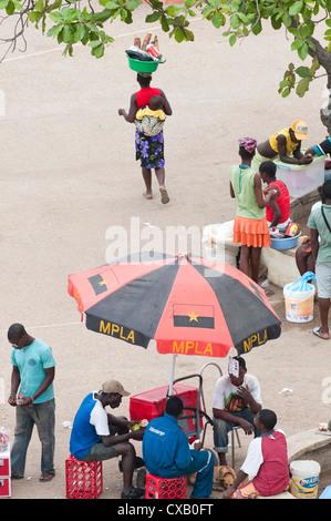 Street scenes in Luanda, Angola, Africa - Stock Photo