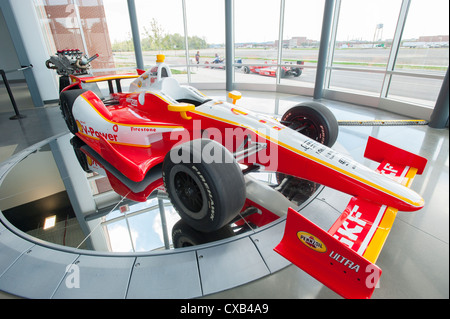 USA Indiana IN Indianapolis Dallara Indy racing car factory and museum visitor's center - Stock Photo