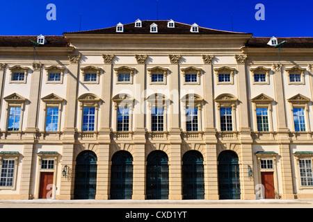 Palais Liechtenstein Main Entrance, Vienna, Austria - Stock Photo