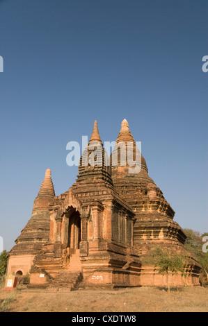 Small pahto, Bagan (Pagan), Myanmar (Burma), Asia - Stock Photo