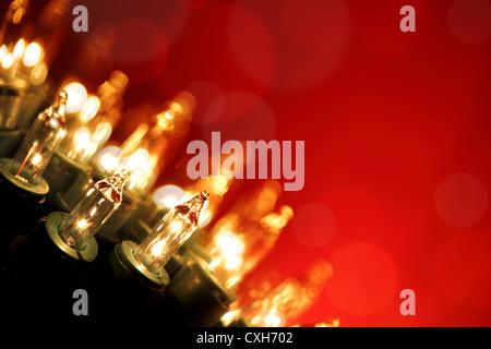 Christmas lights - Stock Photo