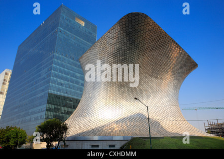 Soumaya museum (2009), Mexico DF, Mexico - Stock Photo