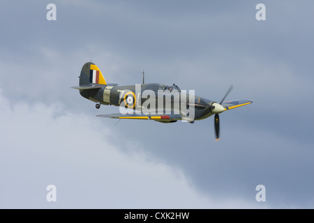 Hawker Sea Hurricane 1b no.Z7015, bulit in 1941. Now part of the Shuttleworth Collection - Stock Photo