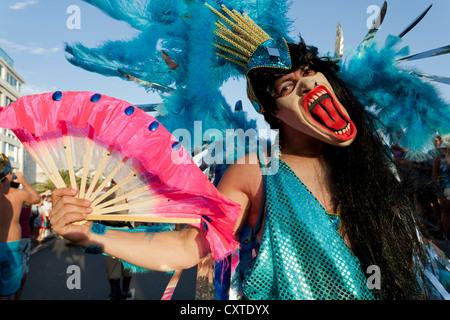 Banda de Ipanema Street Carnival Rio de Janeiro Brazil - Stock Photo
