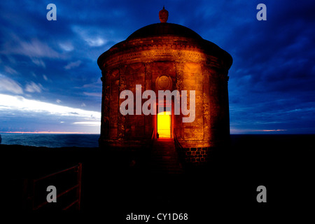 Peace Camp at Mussenden, Co. Derry, Northern Ireland - Stock Photo