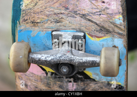 skateboard, outdoor, detail, photoarkive - Stock Photo