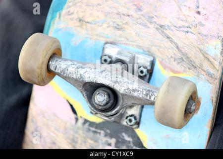 skateboard, outdoor, detail, photoarkive - Stock Photo