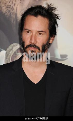 KEANU REEVES  US film actor in October 2012. Photo Jeffrey Mayer - Stock Photo