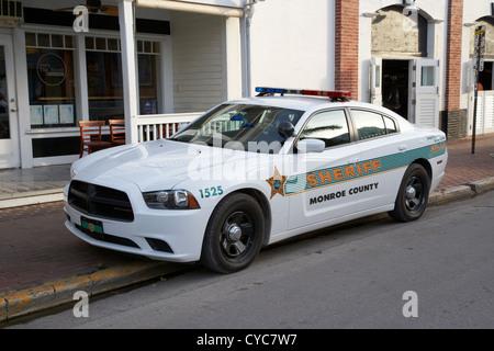 monroe county sheriff patrol squad car key west florida usa - Stock Photo