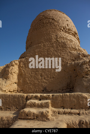 Mor Buddhist Stupa, Kashgar, Xinjiang, China, Xinjiang Uyghur Autonomous Region, China - Stock Photo