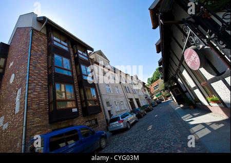 Olsztyn - previously Allenstein - in North-Eastern Poland - Stock Photo