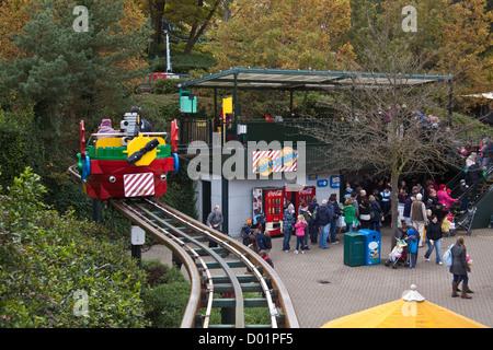 Sky Rider ride at Legoland theme park, Winsor, England, United Kingdom. - Stock Photo