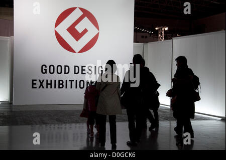 November 25, 2012, Tokyo, Japan - Good Design Award 2012 displays 1,180 good designs selected products of architecture, - Stock Photo