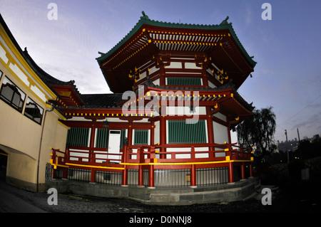 Bentendo Hall Shrine, Ueno Park, Tokyo, Japan - Stock Photo