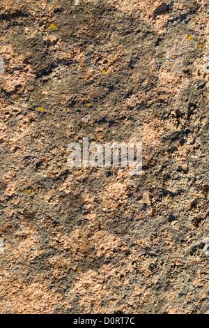 Granite surface in sunny illumination - Stock Photo