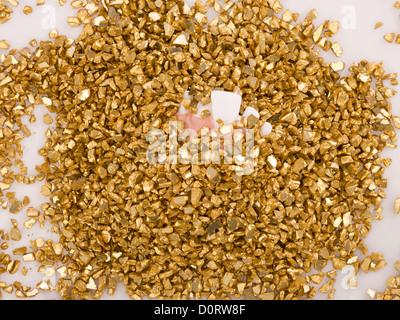 Treasure of gold - Stock Photo