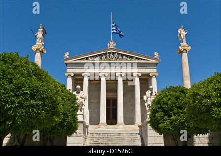 The Academy of Athens at Athens city, Greece - Stock Photo