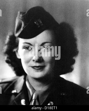 Kay Summersby Morgan served as General Eisenhower's chauffeur when he was to Supreme Commander Allied Force in World - Stock Photo