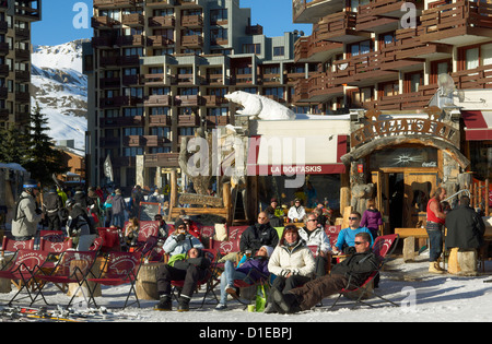 Tignes, Savoie, Rhone-Alpes, French Alps, France, Europe - Stock Photo