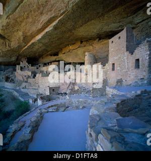 Mesa Verde National Park, Colorado, USA - Cliff Palace, an Ancestral Puebloan aka Anasazi Dwelling and Ruins - Stock Photo