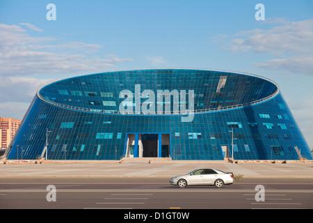 Shabyt Palace of Arts, Astana, Kazakhstan, Central Asia, Asia - Stock Photo