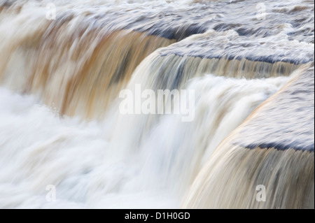 Middle Force at Aysgarth Falls, Yorkshire Dales, UK - Stock Photo