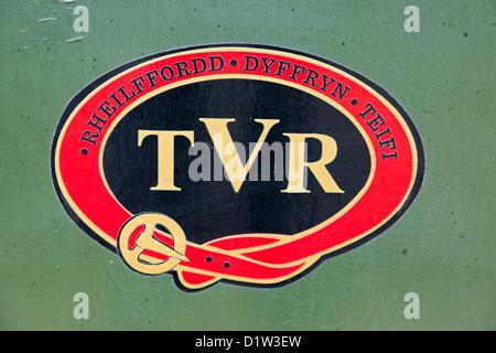 Teifi Valley Railway Wales - Stock Photo